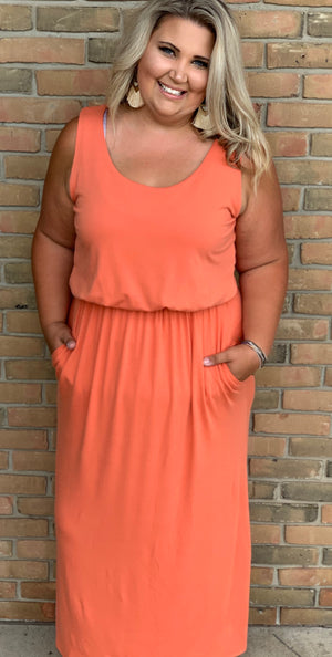 Valkyrie Maxi Dress-Curvy