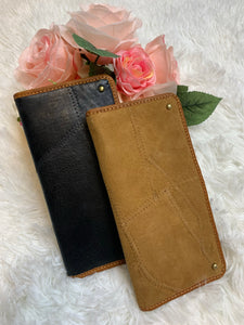 Upcycled Leather Wallet