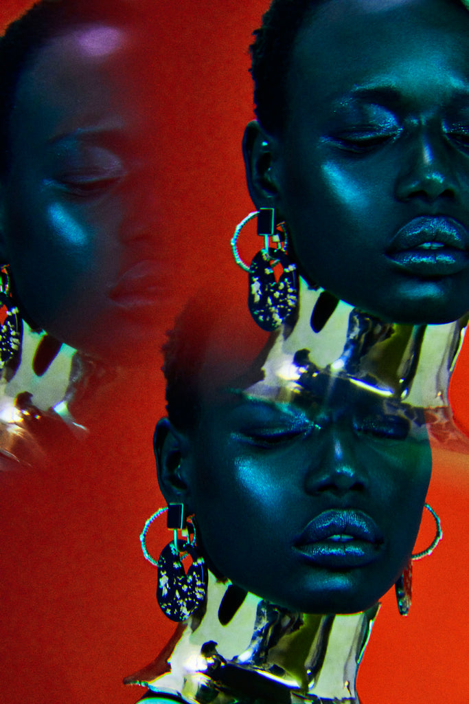 Sterling King Magma Neckpiece featured in Vogue Portugal
