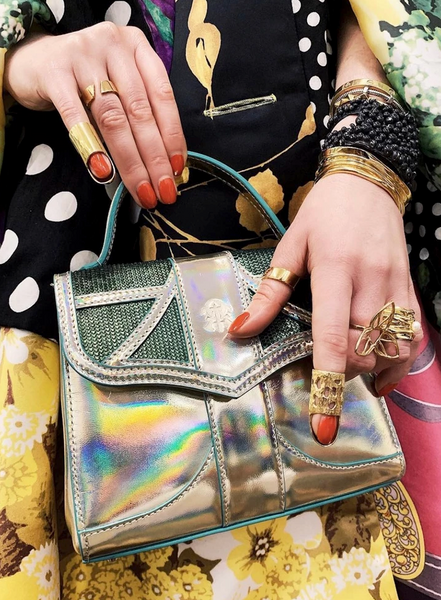 Street style featuring gold rings by Sterling King