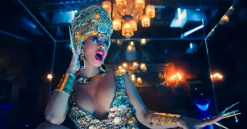 """Cardi B wears Sterling King Fracture Cuff, Wrapping Cuff and Magma Collar in """"Money"""" Official Music Video"""