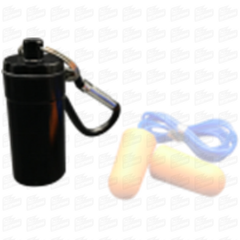 S15 Earplug Aluminum Container Accessories