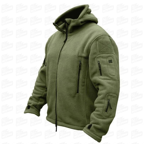 TACTICAL FLEECE JACKETS MOD. 004 - Gattopardo Usa