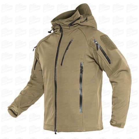 TACTICAL SOFT SCHELL JACKETS - Waterproof zipper MOD. 404 - Gattopardo Usa