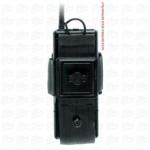 UNIVERSAL RADIO HOLDER WITH REMOVABLE BELT LOOP - 19163 (MQO) - TACTICALMOOD.com