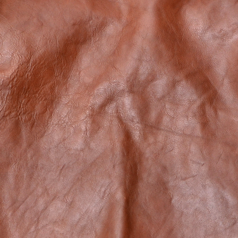 Shinki Horsehide Medium Brown Pigment Finish