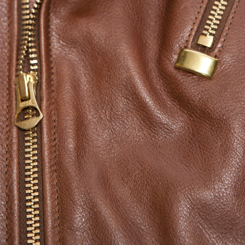 Victoria Horsehide Medium Brown