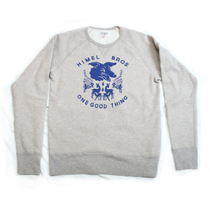 "Himel Bros. ""Cry Wolf"" Crew Neck Fleece"