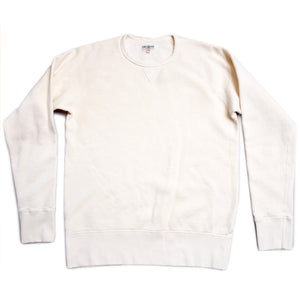 Himel Bros. White Crew Neck Fleece