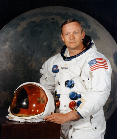 First Man on the Moon. Neil Armstrong 1969