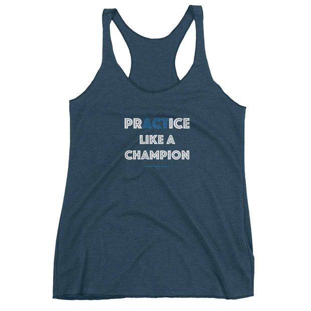 Act Like A Champion Racerback - SWIMSTR™