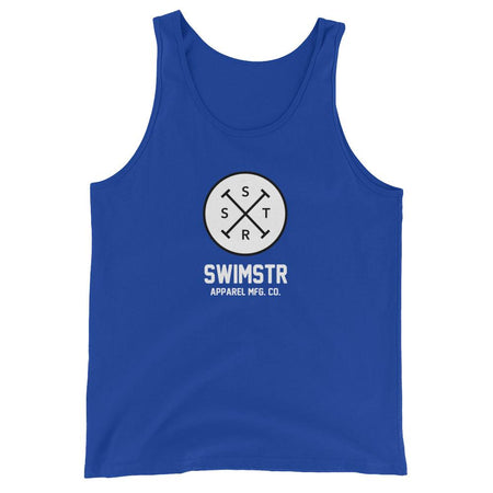 The Black Line Logo Type Unisex Tank Top - SWIMSTR™