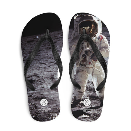 Apollo 11 50th Anniversary 2019 Flip-Flops