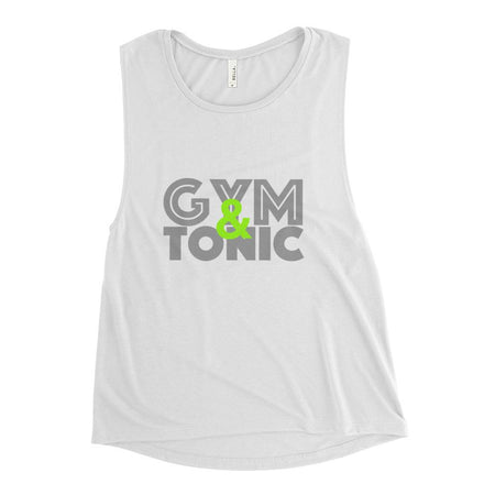 Gym & Tonic Women's Flowy Scoop Muscle Tank