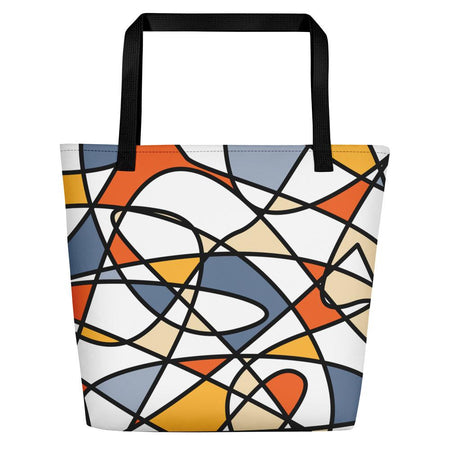 Abstraction Beach Bag - SWIMSTR™