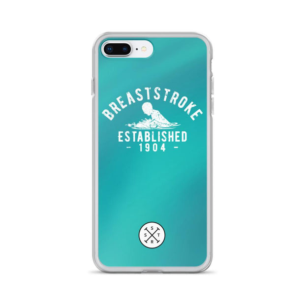 Breaststroke Established 1904 Ocean iPhone Case