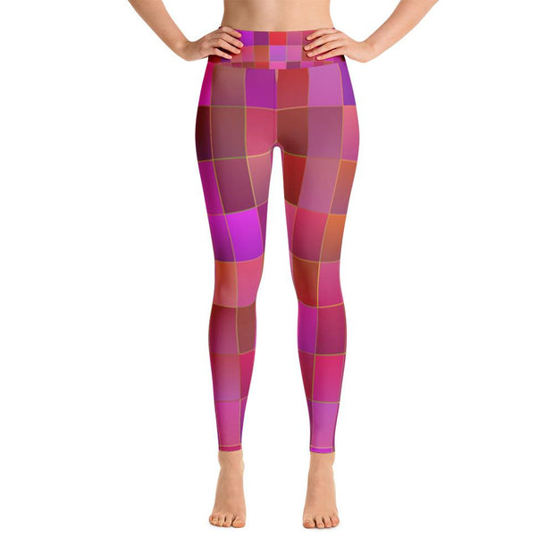 Mosaic Yoga Leggings