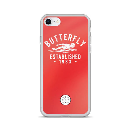 Butterfly Established 1933 Red iPhone Case