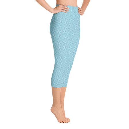 Essential Blue Yoga Capri Leggings