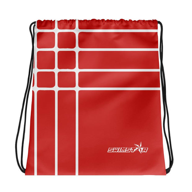 Linear Red Gym Bag