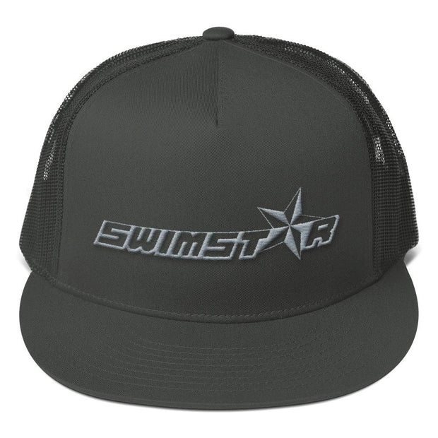 SWIMSTR™ Brand Mark Mesh Back Snapback - SWIMSTR™