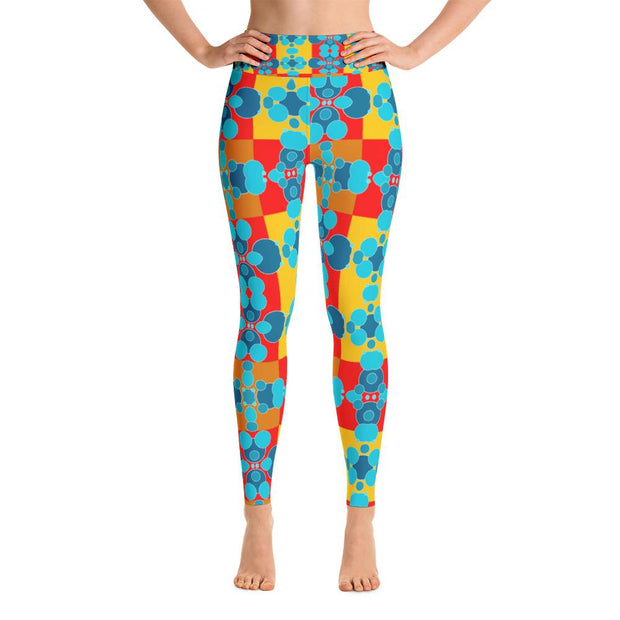 Pop-Art No. 8 Yoga Leggings