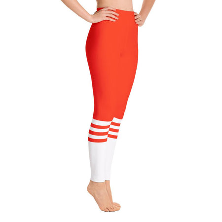 Fire Socks Yoga Leggings