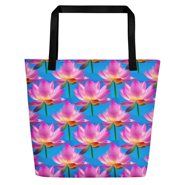 Lotus Beach Bag