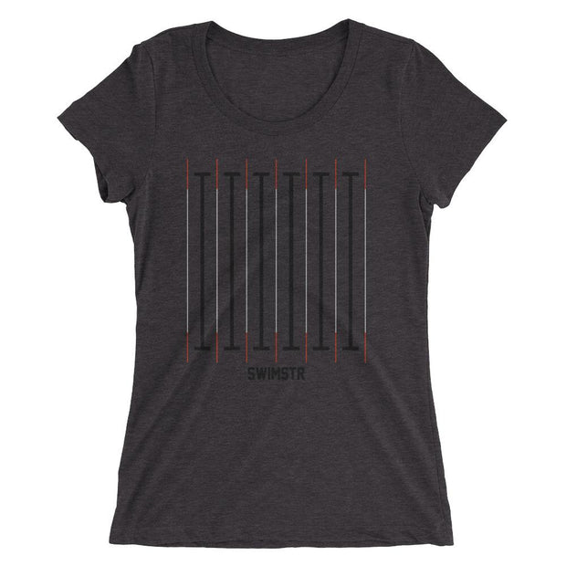 The Black Line Women's T-Shirt - SWIMSTR™