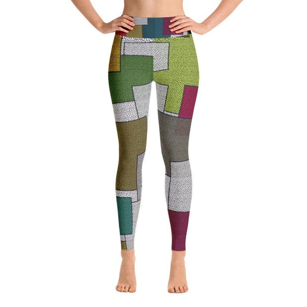 Texture Yoga Leggings - SWIMSTR™