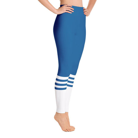 Ocean Socks Yoga Leggings