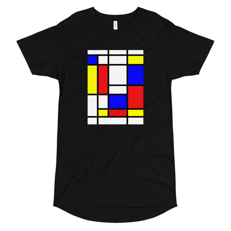 Mondrian Long Body Urban Tee