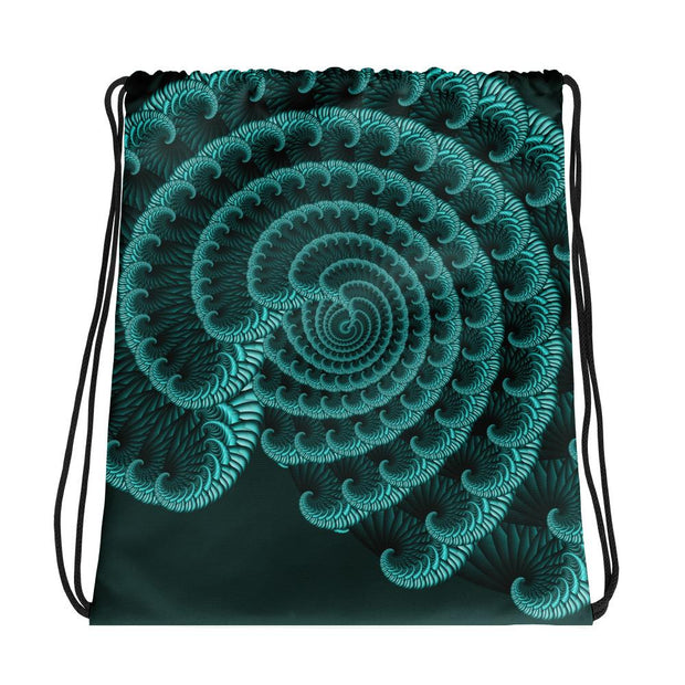 Emerald Spiral Gym Bag
