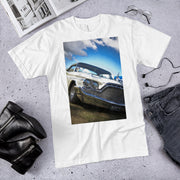 1960 DeSoto Adventure on white American Apparel T-Shirt by SWIMSTR