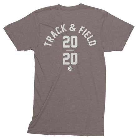 Track & Field Track Shirt in Coffee. Tokyo 2020 Olympic Sport.