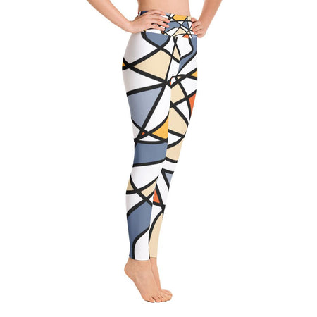 Abstraction Yoga Leggings - SWIMSTR™