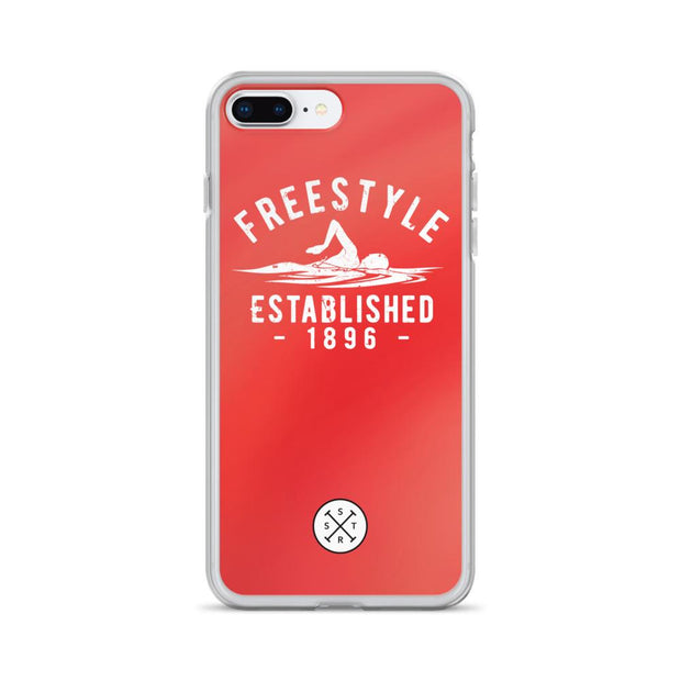 Freestyle Established 1896 Red iPhone Case
