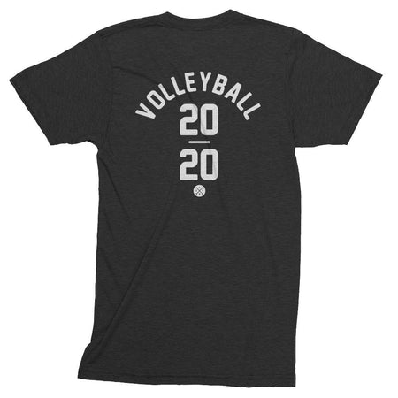 Volleyball Track Shirt in Black. Tokyo 2020 Olympic Sport.