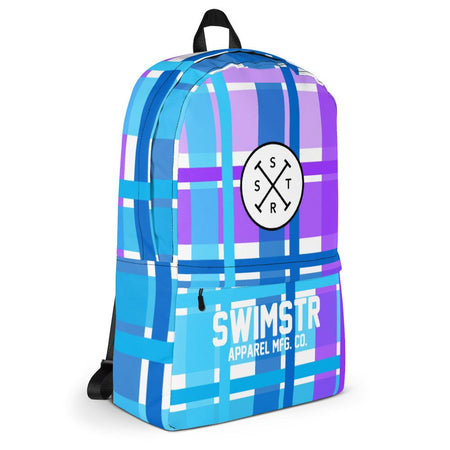 SWIMSTR™ Gingham Backpack