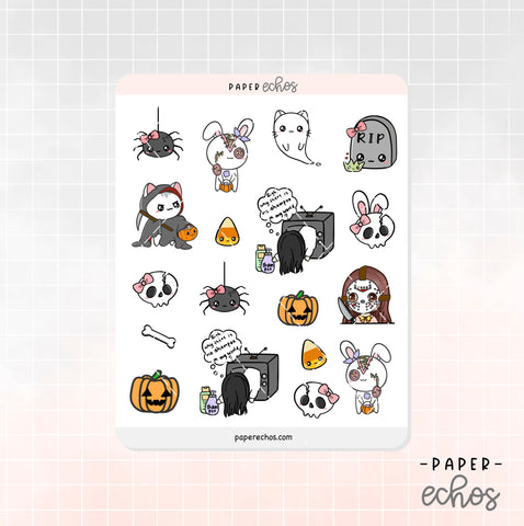 Halloween Horror Movie Decoration Stickers (DE007)