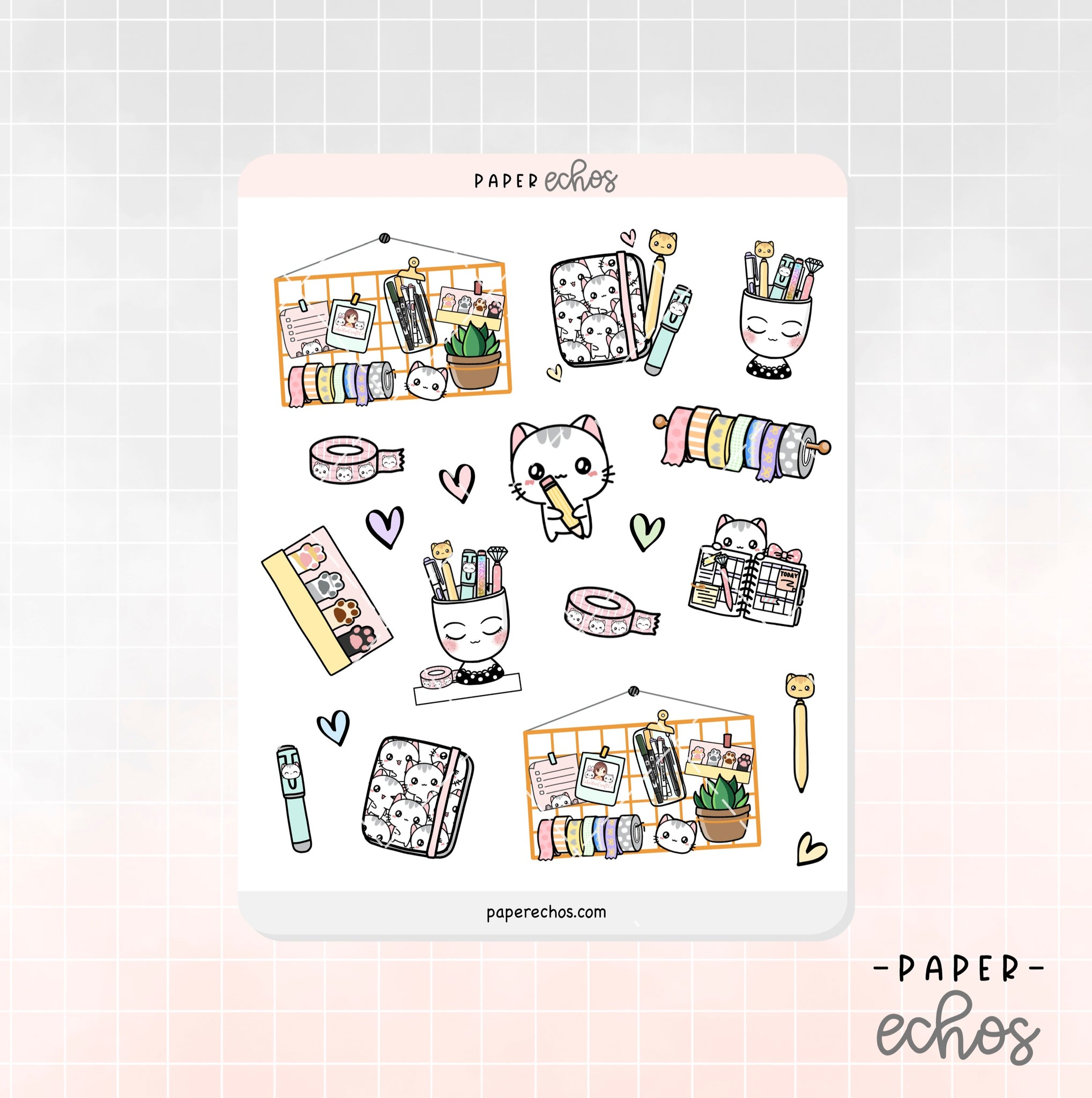 Sushi Loves Planning Decoration Stickers (DE015)