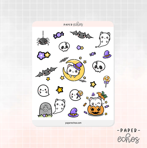 Halloween Sushi the Cat Decoration Stickers (DE018)