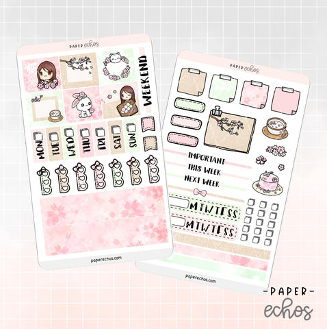 Sakura Cherry Blossom Hobonichi Weeks Full Kit (HBCB)