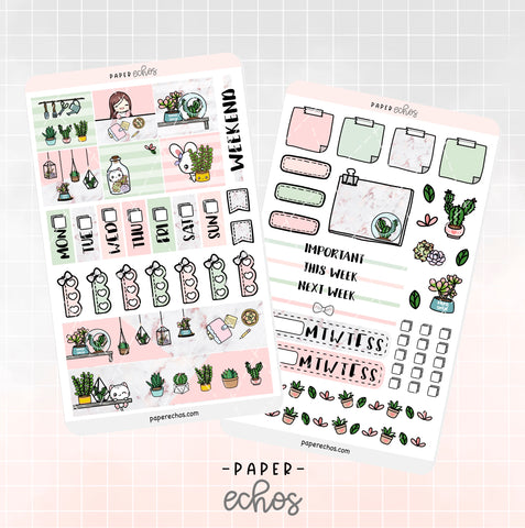 Succulents Hobonichi Weeks Full Kit (HBSC)