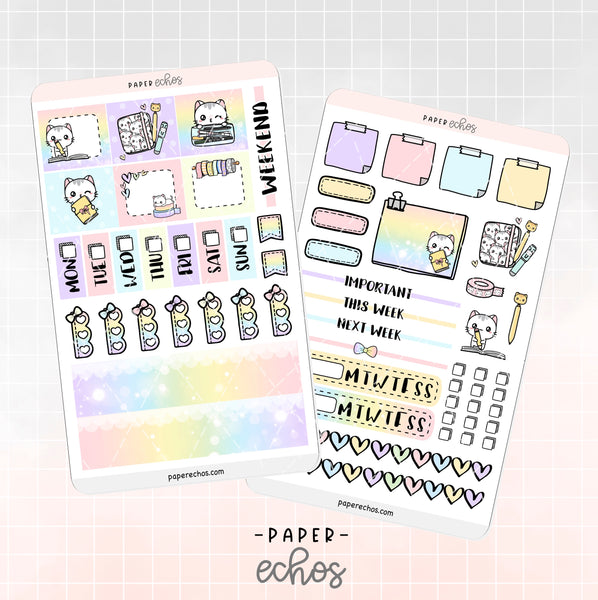 Sushi Loves Planning Hobonichi Weeks Kit (HBSP)