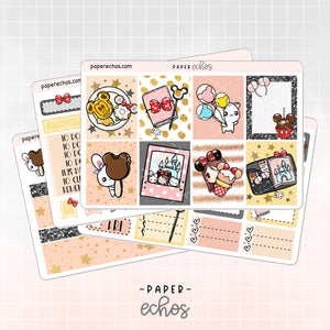 Disney Land Hand Draw Weekly Kit (WK03)