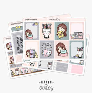 Happy Planning Hand Draw Weekly Kit (WKHP)