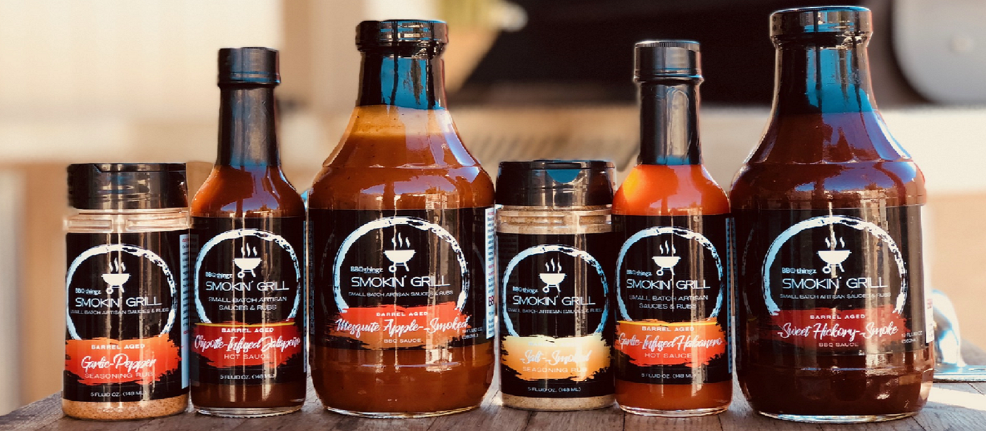 Handcrafted BBQ Sauces, Dry Rubs & Hot Sauces