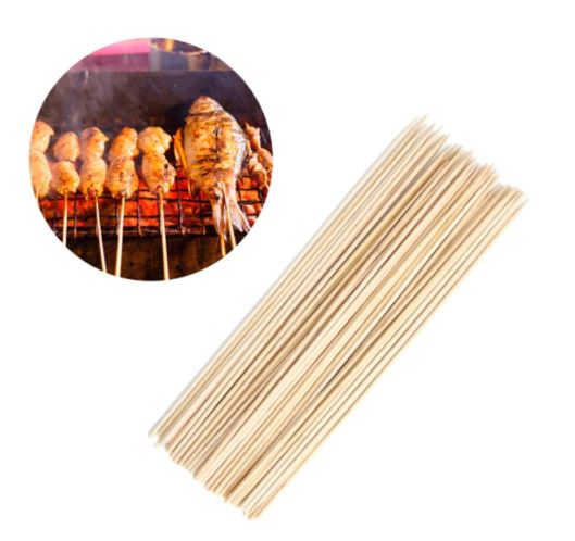 "BBQthingz™ | 9"" Bamboo BBQ Shish Kebab Skewers 