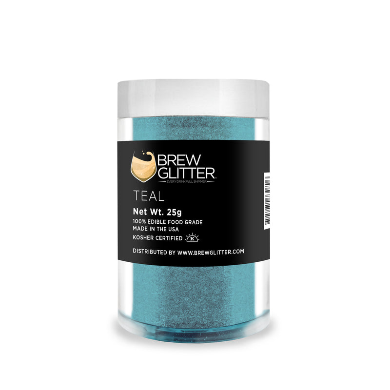 Teal Brew Glitter | Food Grade Beverage Glitter